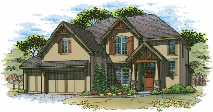 Woodbridge Floor Plan Homes Overland Park Ks